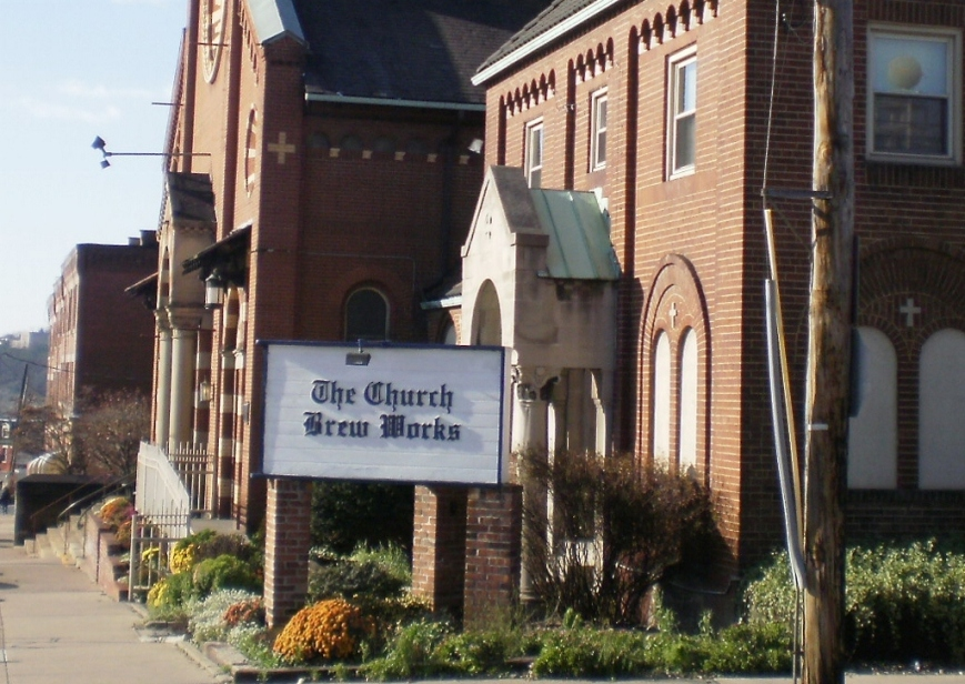 Church Brew Works Sign