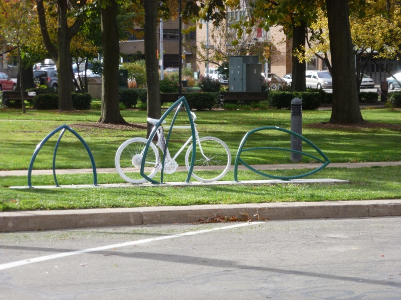 Bike Rack/Memorial, Erie, PA