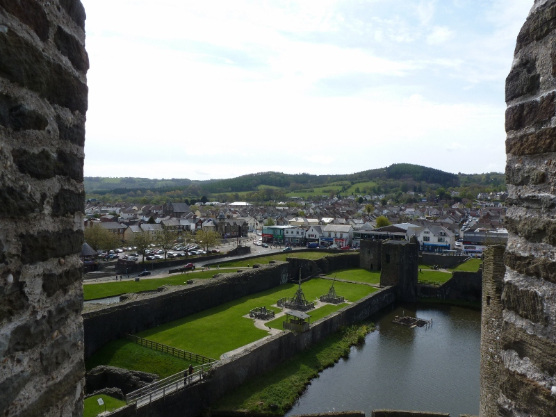 Views from the Castle's Keep