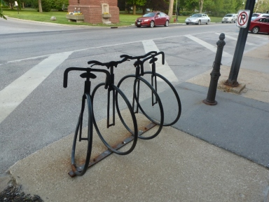 Bike Rack and Hitching Post