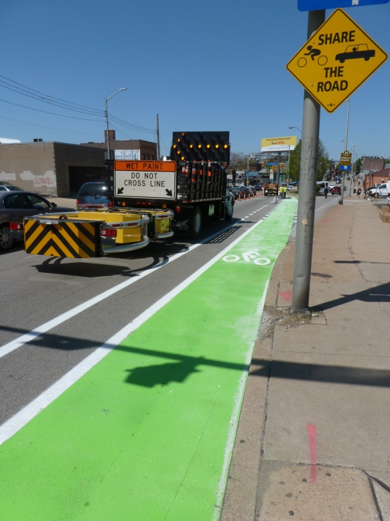 The Green Bike Lane