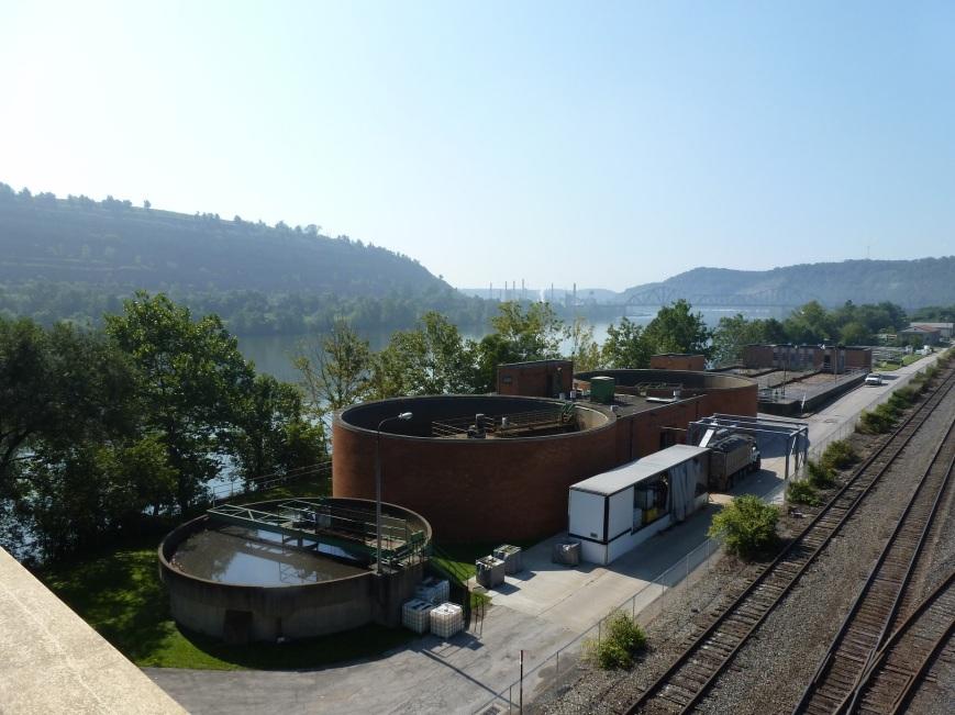 Sewage Plant view