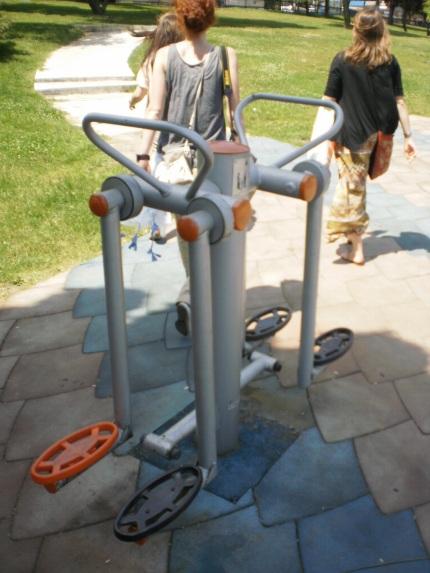 Istanbul exercise equipment