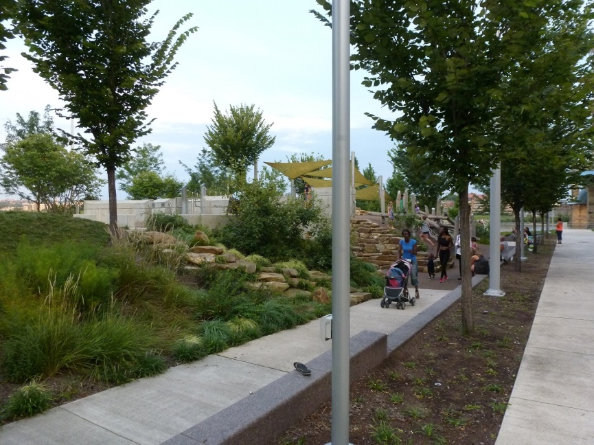 More images from Cincinnati's riverfront park